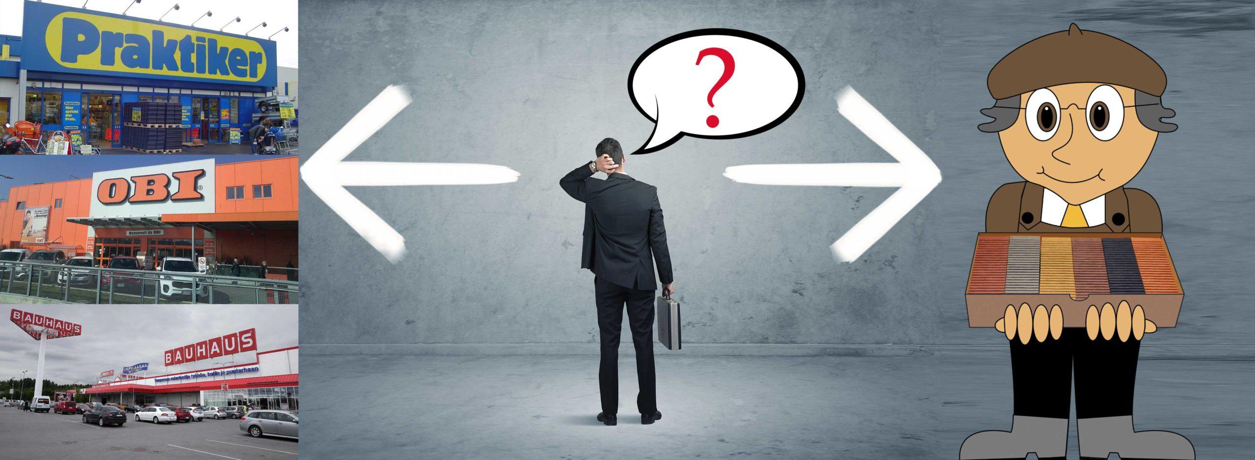 Honnan vásároljunk WPC-t? Szakkereskedőtől vagy a Praktiker-ből, az Obi-ból, talán a Bauhaus-ból?